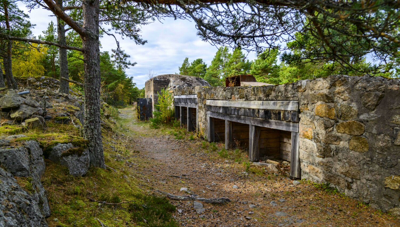Pikkupatteri on osa Katanpää historiaa